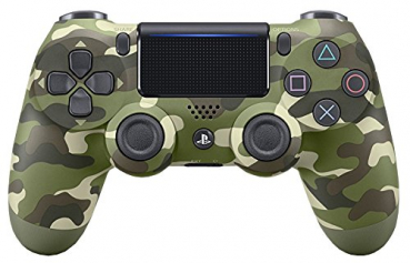 Sony Dualshock 4 Green Camouflage V2 (PlayStation 4)