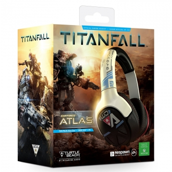 Turtle Beach Ear Force Atlas Headset Titanfall Edition (Xbox One, Xbox 360, PC)