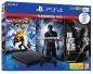 Preview: Sony PlayStation 4 Konsole Slim Jet Black (500GB) inklusive 1 Controller + 3 Spiele (The Last of Us, Ratchet & Clank & Uncharted 4)
