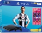 Preview: Sony PlayStation 4 Konsole Slim Jet Black (500GB) inklusive FIFA 19