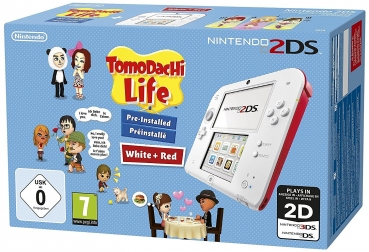 Nintendo 2Ds inklusive Tomodachi Life