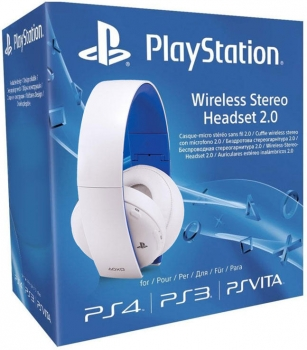 Sony Wireless Stereo Headset 2.0 White (PlayStation 4, PlayStation 3, PsVita)