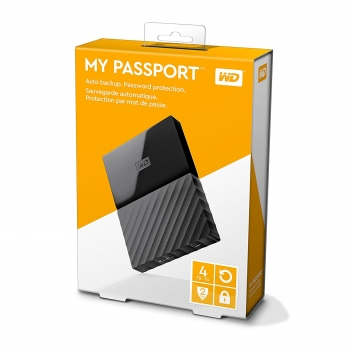 WD My Passport Mobile Externe Festplatte 4TB (PlayStation 4, Xbox One, PC)