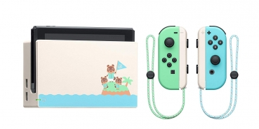 Nintendo Switch Konsole Animal Crossing (Limited Edition) inklusive Animal Crossing New Horizons