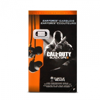 Turtle Beach Ear Force M1 Earbuds Call of Duty Black Ops 2 (PlayStation 4, PlayStation 3)