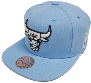 Mitchell & Ness Chicago Bulls Blue Snapback