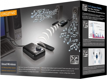 Creative Labs XMOD Wireless Music System mit X-Fi Technologie