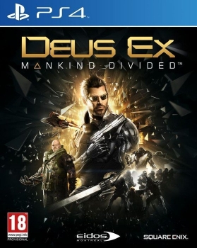 Deus Ex Mankind Divided Steelbook Edition (PlayStation 4)
