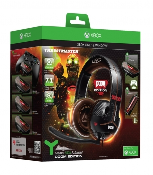 Thrustmaster Y-350X Headset 7.1 Doom Edition (Xbox One, PC)
