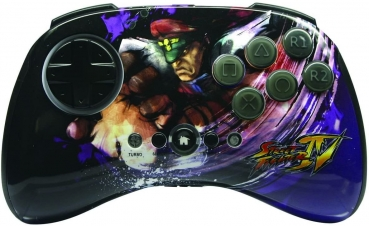 MadCatz Street Fighter IV Bison Fightpad Wireless Controller (PlayStation 3)