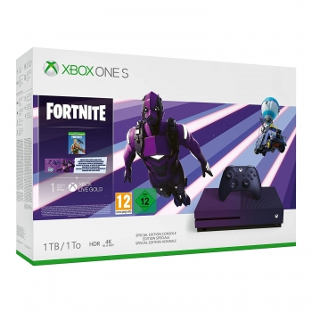 Microsoft Xbox One S Konsole (1TB) Fortnite Special Edition