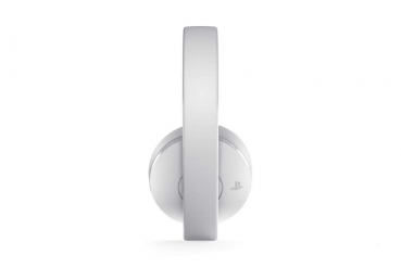 Sony PlayStation 4 Gold Wireless Headset 7.1 White (PlayStation 4, PC)