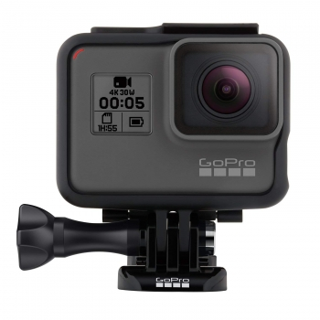 GoPro Hero5 Black Actionkamera Bundle (inklusive Casey, Shorty Stativ & 16GB Speicherkarte)
