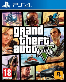 Grand Theft Auto V Gta 5 (PlayStation 4)
