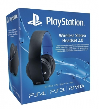 Sony Wireless Stereo Headset 2.0 Black (PlayStation 4, PlayStation 3, PsVita)