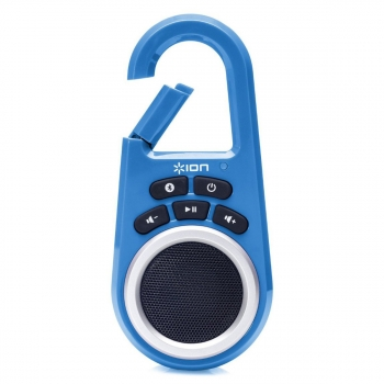 Ion Clipster Blue Bluetooth Lautsprecher