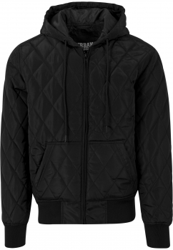 Urban Classics Diamond Quilt Jacke Black