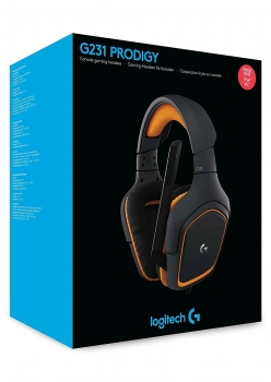 Logitech G231 Prodigy Headset (PlayStation 4, Xbox One, PC)