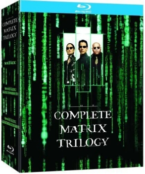Matrix The Complete Trilogy [englische Originalausgabe] (Blu-ray)