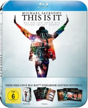 Michael Jackson´s This is it Ultimate Fan Collector´s Edition im Steelbook (Blu-ray)