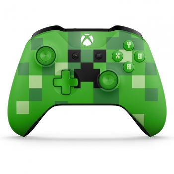 Microsoft Wireless Controller Minecraft Creeper Limited Edition (Xbox One)