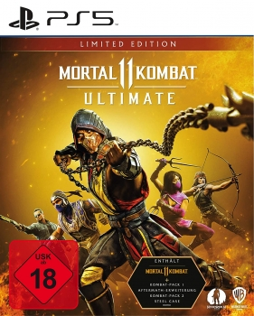 Mortal Kombat 11 Ultimate Limited Steelbook Edition (PlayStation 5)