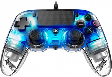 Nacon Controller Light Edition mit LED-Hintergrundbeleuchtung (PlayStation 4)