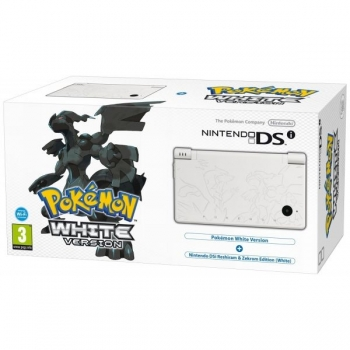 Nintendo DSi Limited Pokemon Edition White