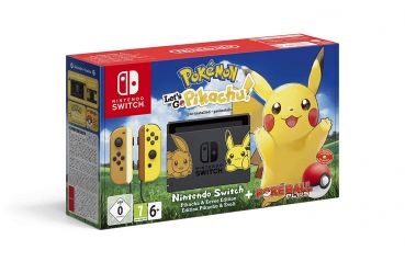 Nintendo Switch Limited Pokemon Let's Go, Pikachu! Edition