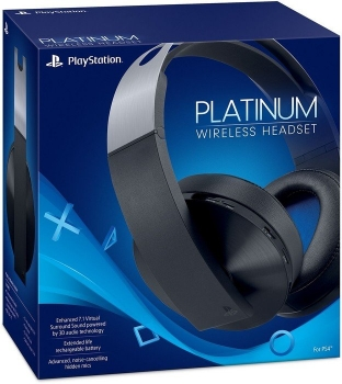 Sony Platinum Wireless Headset (PlayStation 4, PlayStation 3, PsVita)