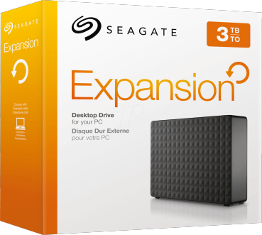 Seagate Expansion externe Festplatte 3TB 2018 Edition (PlayStation 4, Xbox One, PC)