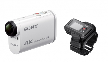Sony FDR-X1000 4K Actioncam Live-View Remote Kit