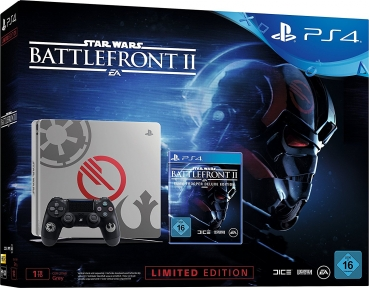 Sony PlayStation 4 Konsole Limited Edition (1TB)  inklusive Star Wars Battlefront 2