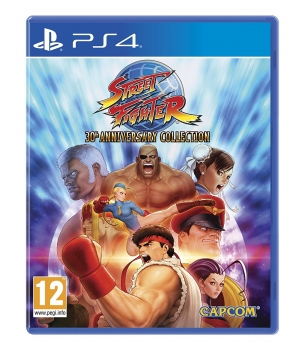 Street Fighter 30th Anniversary Collection (PlayStation 4)