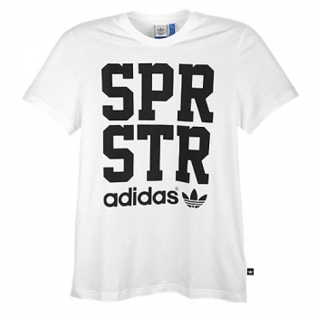 Adidas Originals Superstar T-Shirt White