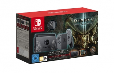 Nintendo Switch Limited Diablo III Edition