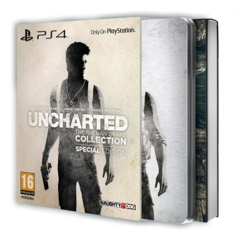 Uncharted The Nathan Drake Collection Special Edition (PlayStation 4)