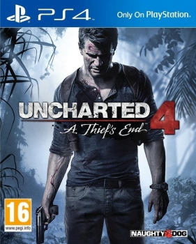 Uncharted 4 A Thief's End (PlayStation 4)