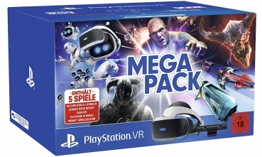Sony PlayStation VR Mega Pack inklusive Kamera + 5 Spiele (PlayStation 4)