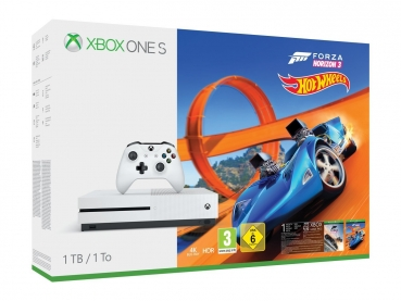Microsoft Xbox One S Konsole (1TB) inklusive Forza Horizon 3 & Hot Wheels