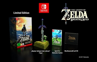 The Legend of Zelda Breath of the Wild Limited Edition (Nintendo Switch)