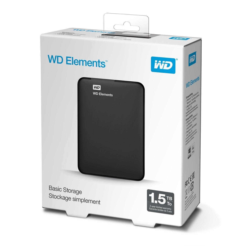 wd elements portable externe festplatte 1 5tb playstation. Black Bedroom Furniture Sets. Home Design Ideas
