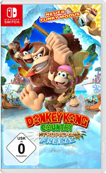 Donkey Kong Country Tropical Freeze (Nintendo Switch)