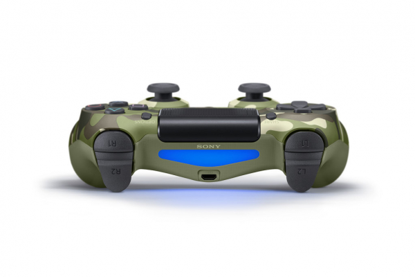 Sony Dualshock 4 Green Camouflage (PlayStation 4)