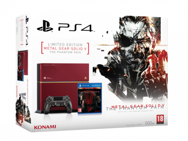 Sony PlayStation 4 Konsole Limited Edition (500GB) inklusive Metal Gear Solid V