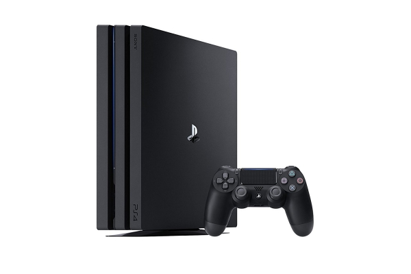 Sony PlayStation 4 Pro Konsole Jet Black (1TB) inklusive 1 Controller