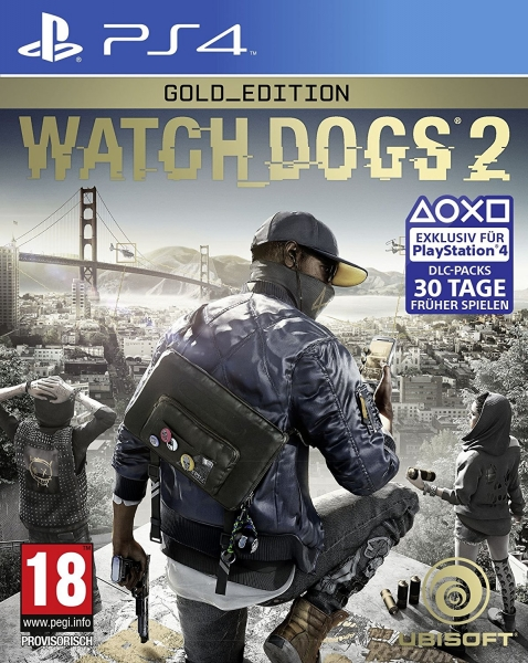 Watch Dogs 2 Gold Edition (PlayStation 4)