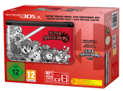 Nintendo 3Ds XL Red Super Smash Bros. Limited Edition